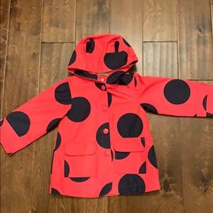 EUC Carter's 2T Girls Rain Jacket Coat